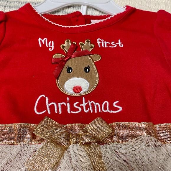 My First Christmas 2 Piece Set 3/6 Months